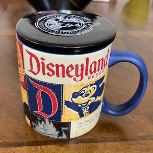 # 1126  New Disney Parks Mug with lid.